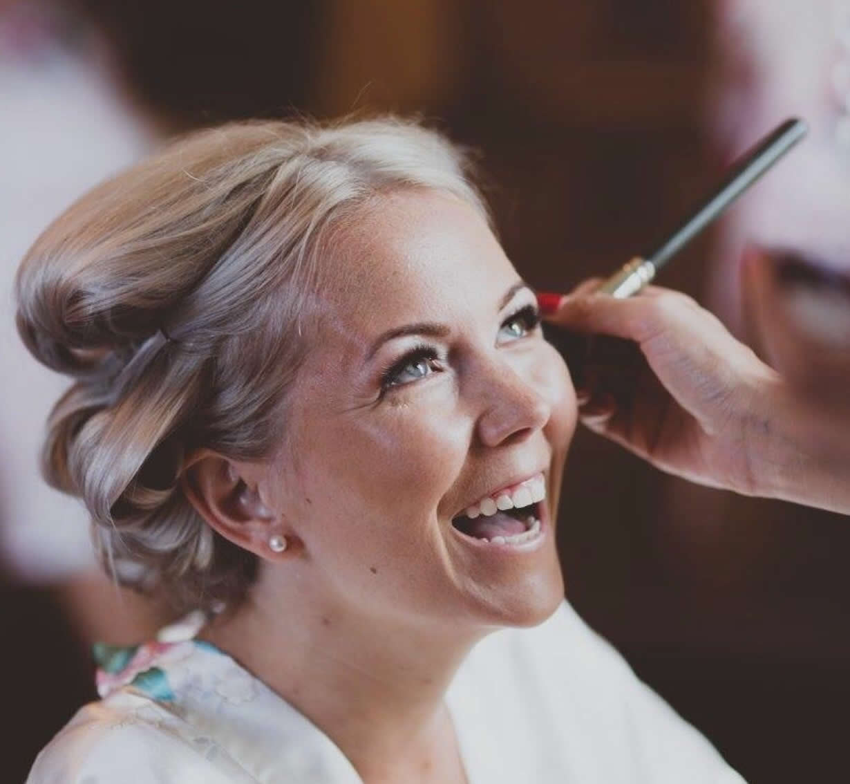 Bridal hair and makeup trial